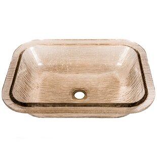 Save. +3. JSG Oceana. Oasis Glass Rectangular Undermount Bathroom Sink