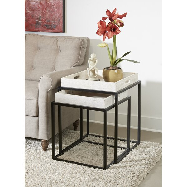 Best Price Austyn Tray Top C Nesting Table (Set Of 2)