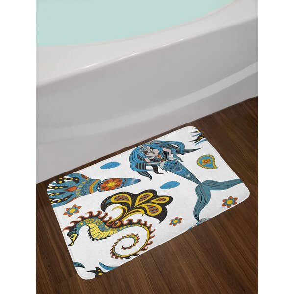 Mermaid Bath Rug by East Urban Home
