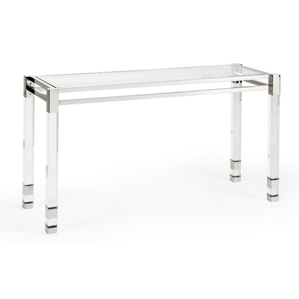 Chelsea House Glass Console Tables