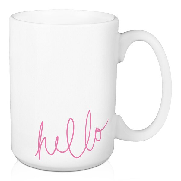 Kroger Hello Coffee Mug by Wrought Studio