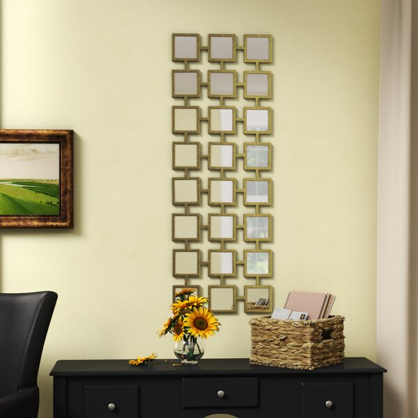 Compton Martin Rectangle Wall Mirror by Mercury Row