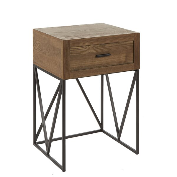 Buttram End Table by Williston Forge