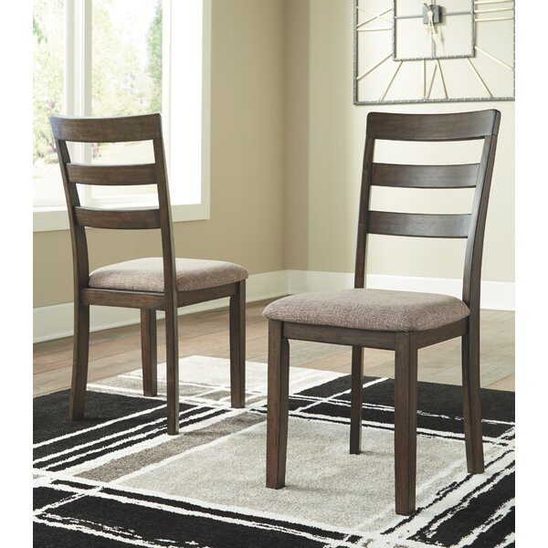 Alviso Upholstered Dining Chair (Set of 2) by Charlton Home