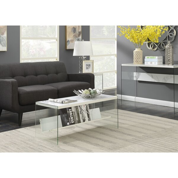Calorafield Sled Coffee Table With Storage by Wade Logan Wade Logan