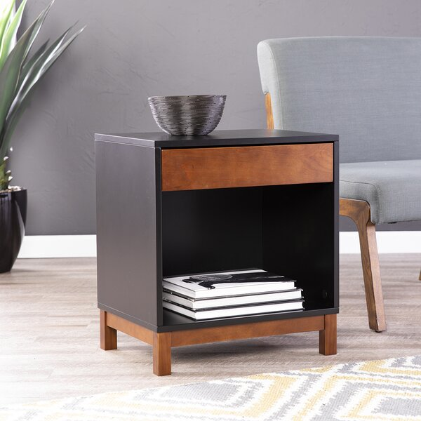 Kori End Table with Storage by Ivy Bronx