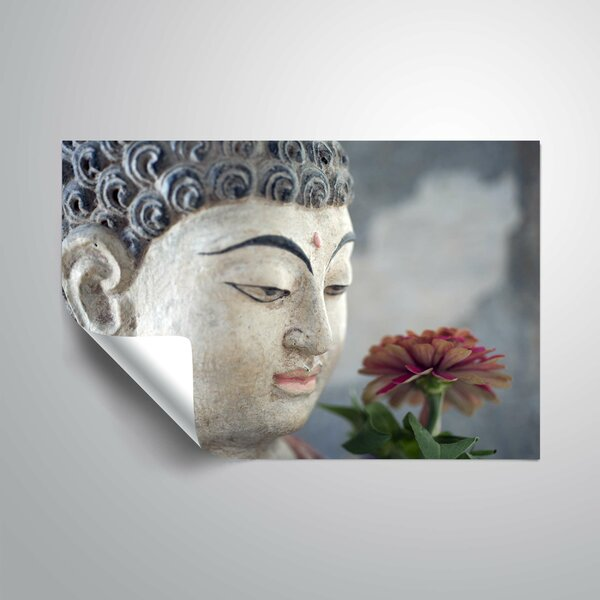 Buddha Flowering Wall Decal by World Menagerie