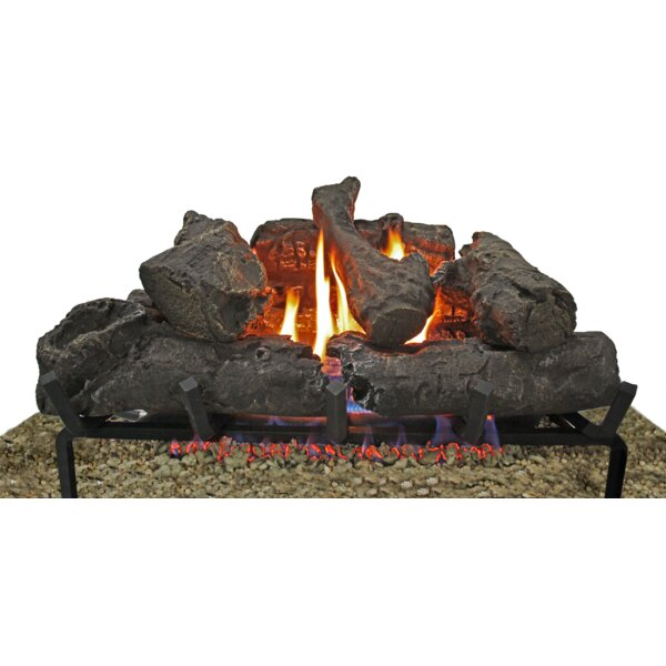 "24"" Gas Log Set by Thermablaster"