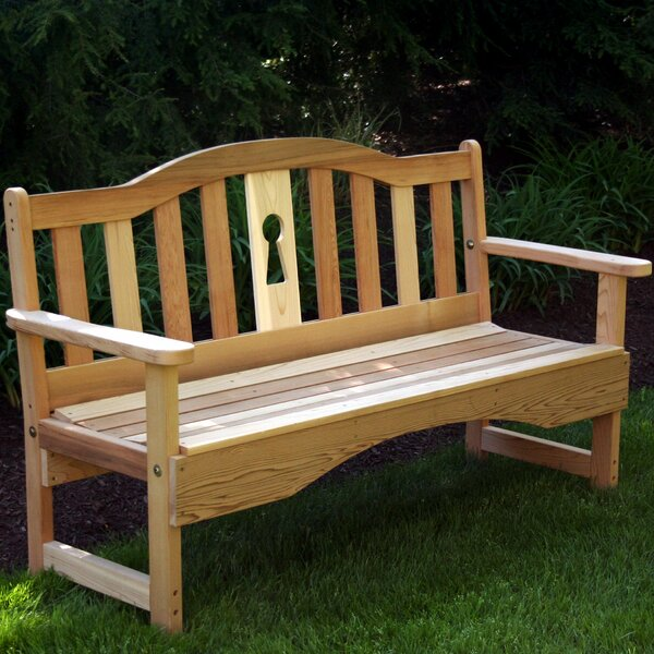 Cedar Benches Garden Bench by Creekvine Designs Creekvine Designs