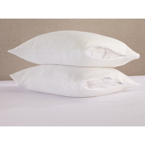Cooling Pillow Protector (Set of 2) by Home Fashion Designs