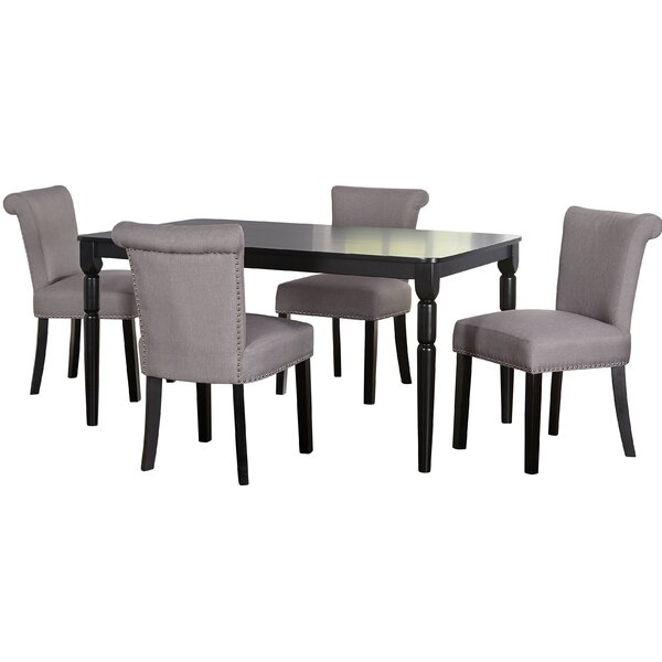 Hubler 5 Piece Dining Set by Mercer41