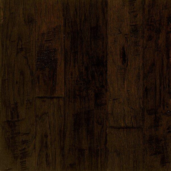 Artesian Random Width Engineered Hickory Hardwood Flooring in Brunet by Armstrong Flooring