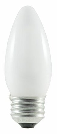 43W (2900K) Frosted Blunt Tip Halogen Light Bulb (Set of 8) by Bulbrite Industries