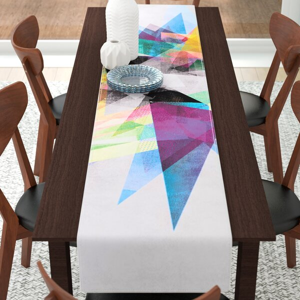 Mareike Boehmer Abstract Table Runner by East Urban Home