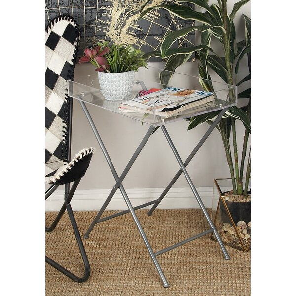 Metal and Acrylic Tray Table by Cole & Grey