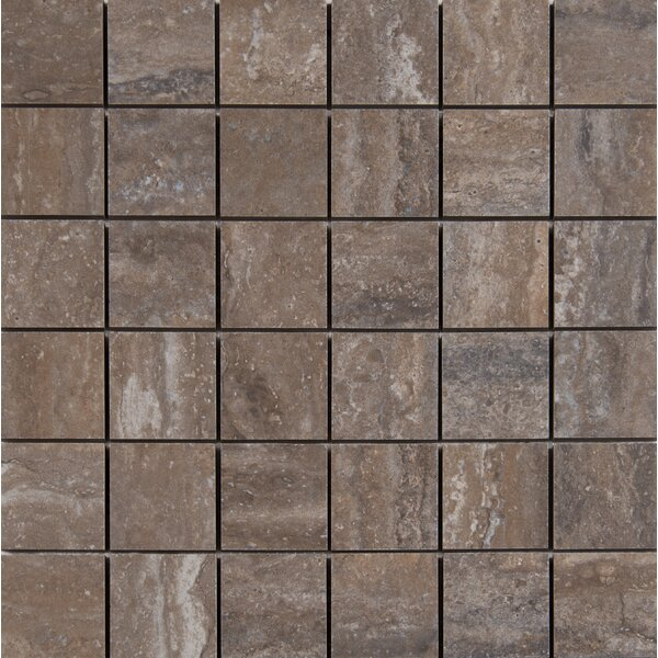 Veneto 2 x 2 Porcelain MosaicTile in Noce by MSI