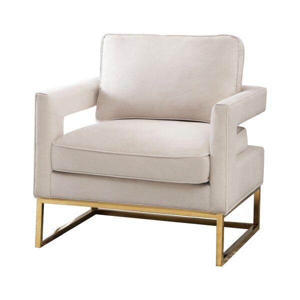 Clapham 26.4-inch Armchair by Mercer41 Mercer41
