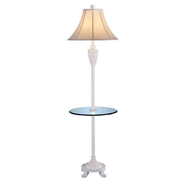 Thor Shell 64 LED Traditional Floor Lamp by Highland Dunes