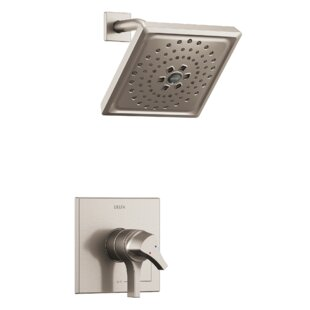 Zura Pressure Balance 17 Series Shower Trim with Double Handle and Monitor By Delta