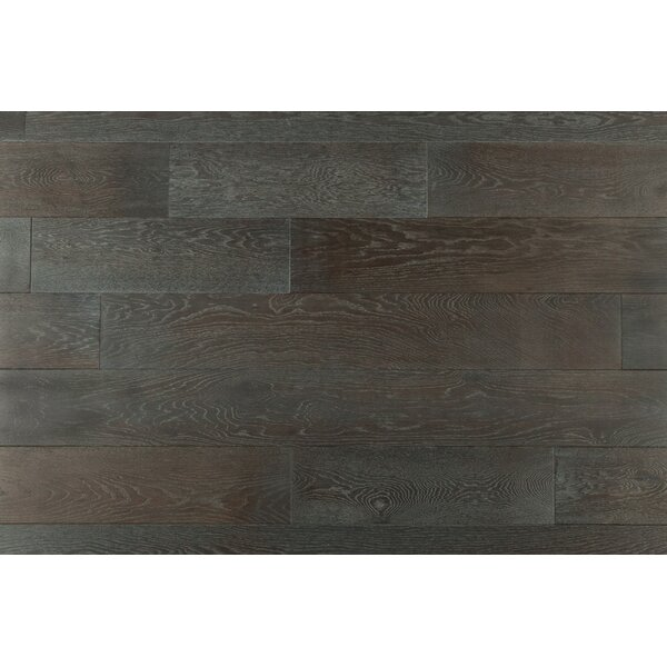 Geneva 7 Engineered Oak Hardwood Flooring in Lone Star Gray by Ivy Bronx