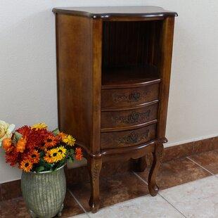 Inexpensive Carved Wood Furniture Telephone Table ByInternational Caravan
