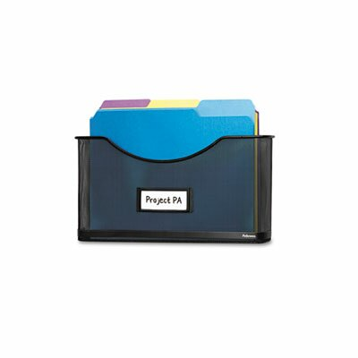 Partition Additions File Pocket, Mesh, 1 1/2 Capacity by Fellowes Mfg. Co.