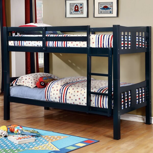 Conwell Twin Over Twin Bunk Bed by Harriet Bee