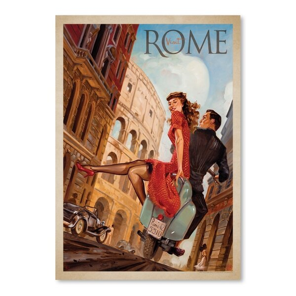 Rome  Advertisement by East Urban Home