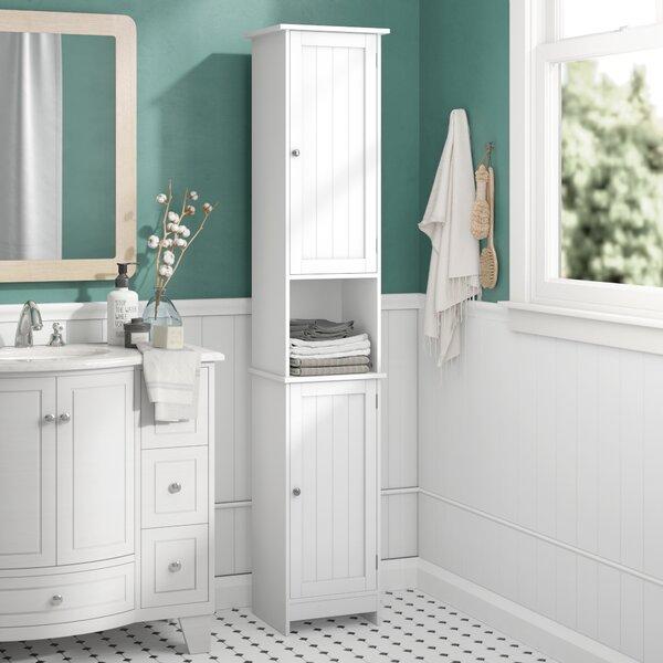 Tall White Bathroom Storage Wayfair Co Uk