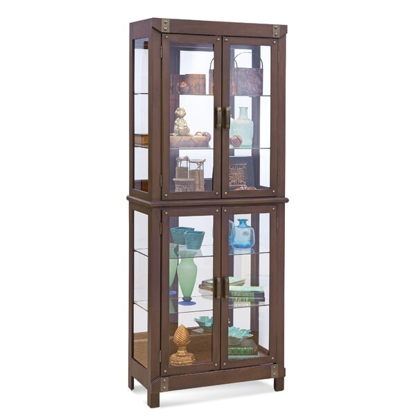 Tribeca I Lighted Curio Cabinet by Philip Reinisch Co.