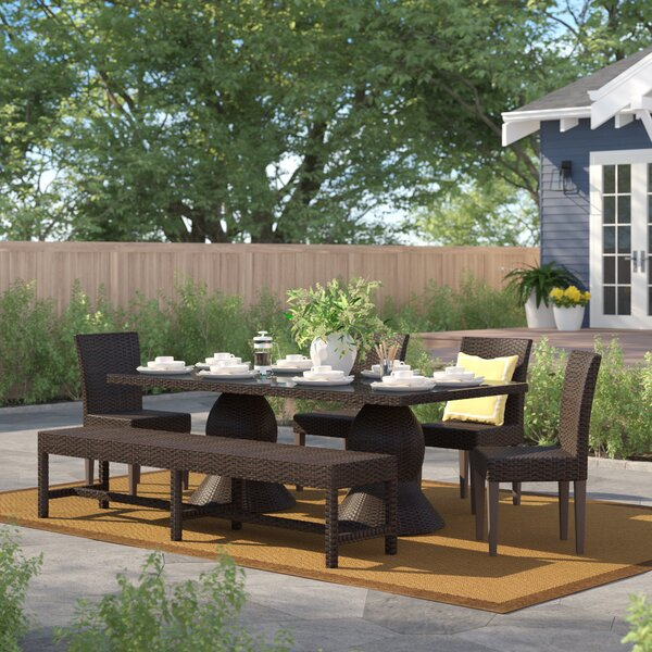 Stratford 6 Piece Dining Set by Sol 72 Outdoor