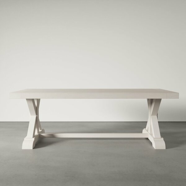 Cordell Solid Wood Dining Table by Gracie Oaks Gracie Oaks