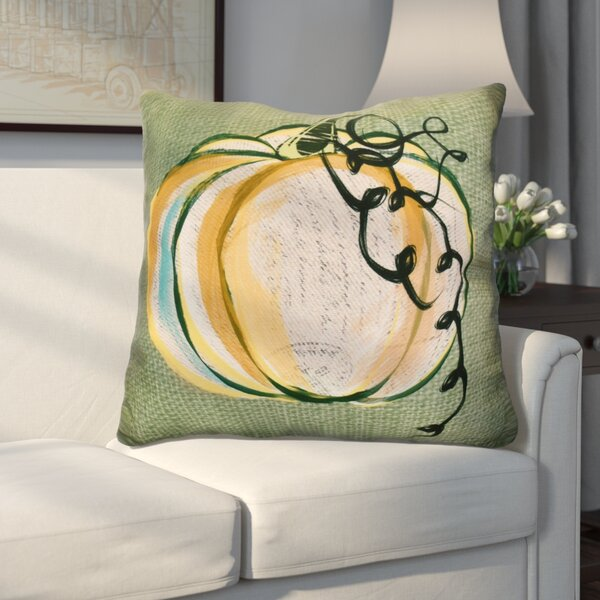 Miller Pumpkin Fest Geometric Euro Pillow by Alcott Hill
