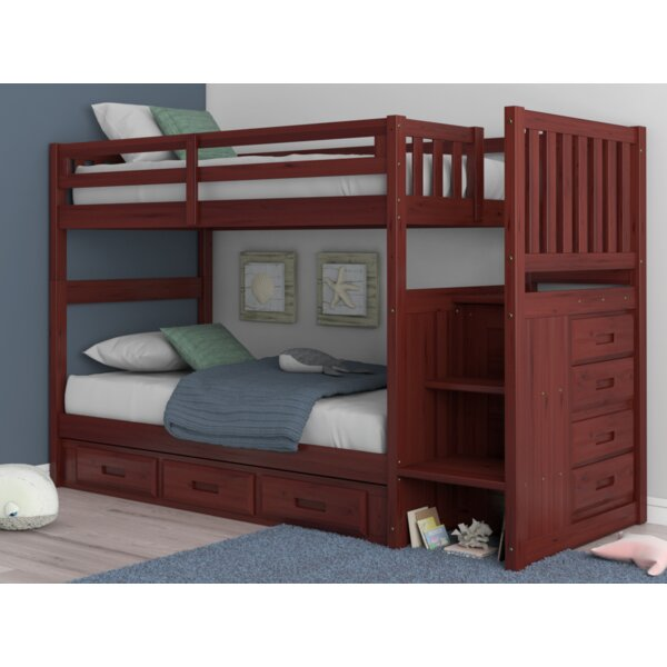 Giuseppe Twin Over Twin Standard Bed by Birch Lane™ Heritage