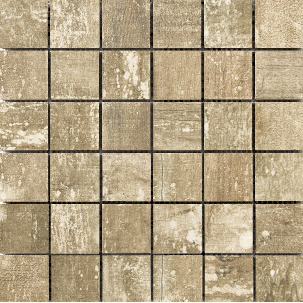 Ranch 2 x 2 Porcelain Mosaic Tile in Lodge by Emser Tile