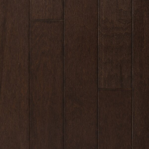 Madrid 5 Engineered Maple Hardwood Flooring in Cappuccino by Branton Flooring Collection