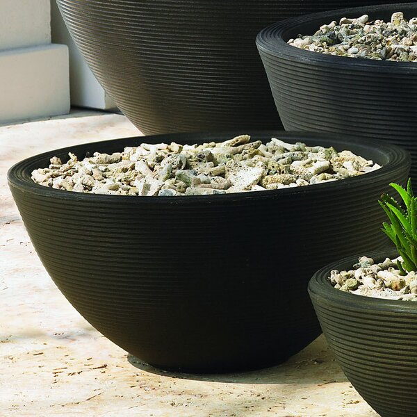 Delano Resin Pot Planter by Crescent Garden