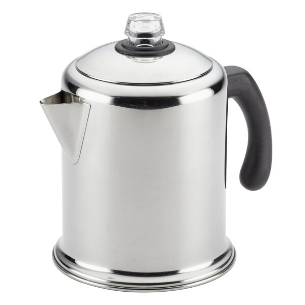 12-Cup Yosemite Coffee Stovetop Coffee Maker by Fa
