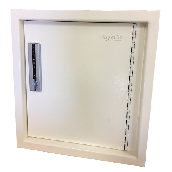 Hidden Wall Safe with Electronic Lock by SafeCo