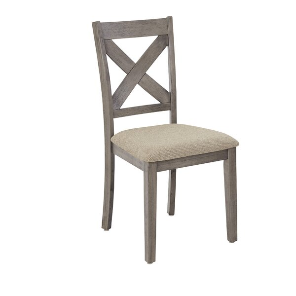 Best Choices Glenn Solid Wood Dining Chair (Set Of 2) By Ophelia & Co. 2019 Sale