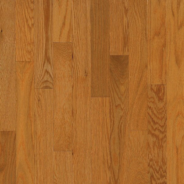 2-1/4 Solid Oak Hardwood Flooring in Butter Rum and Toffee by Bruce Flooring