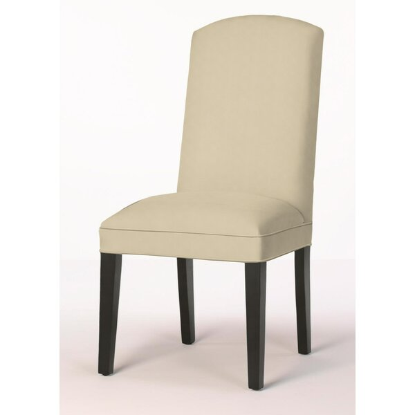 Crescent Back Upholstered Dining Chair by Sloane Whitney Sloane Whitney