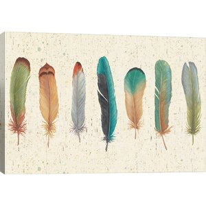 'Feather Tales VII' Graphic Art Print by East Urban Home