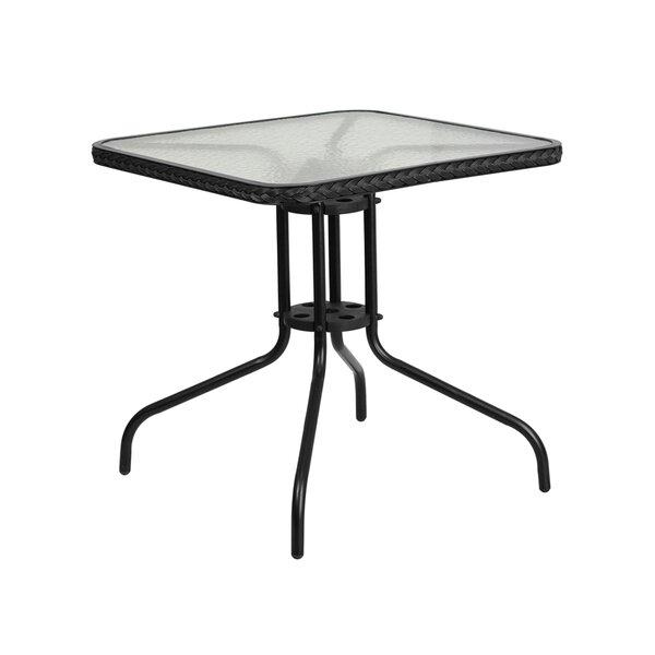Rafferty Metal Bar Table by Winston Porter