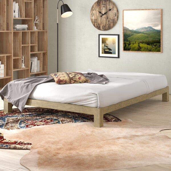 Szumowski Metal Platform Bed Frame by Union Rustic