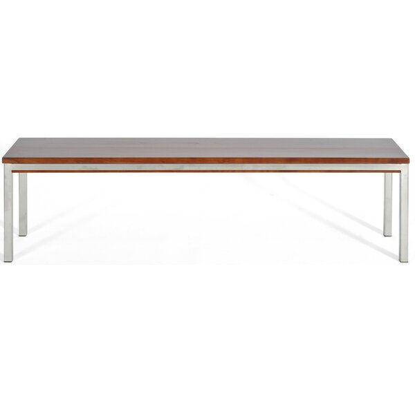 Rayna Wood and Metal Bench by Brayden Studio