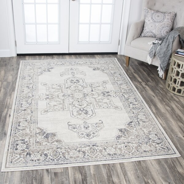 Aster Natural Area Rug by Ophelia & Co.
