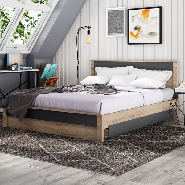 Ashton Queen Storage Platform Bed by Trule Teen