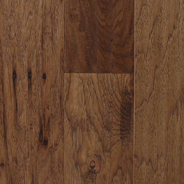 Amsterdam 5 Engineered Hickory Hardwood Flooring in Chestnut by Branton Flooring Collection