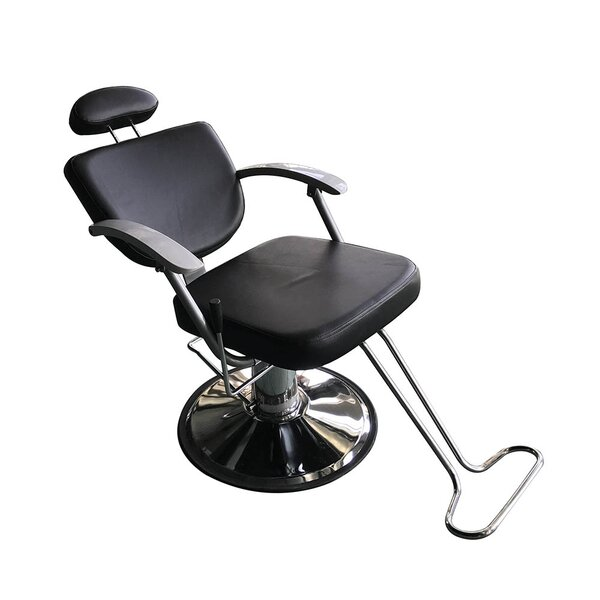 Barber Salon Reclining Massage Chair By Ebern Designs